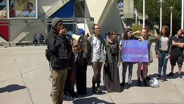Police accused of excessive force after SFSU arrests