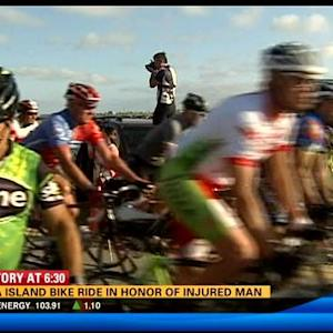 Fiesta Island bike ride in honor of injured man