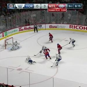 Jonathan Bernier Save on Lars Eller (11:46/3rd)