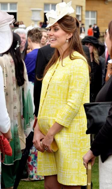 Britain's Catherine, Duchess of Cambridge attends a garden party at Buckingham Palace in London May 22, 2013 -- Getty Images