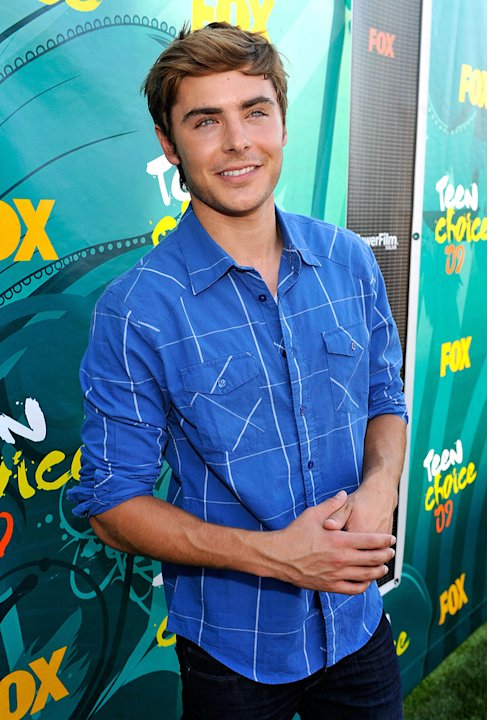 2009 Teen Choice Awards Zac Efron