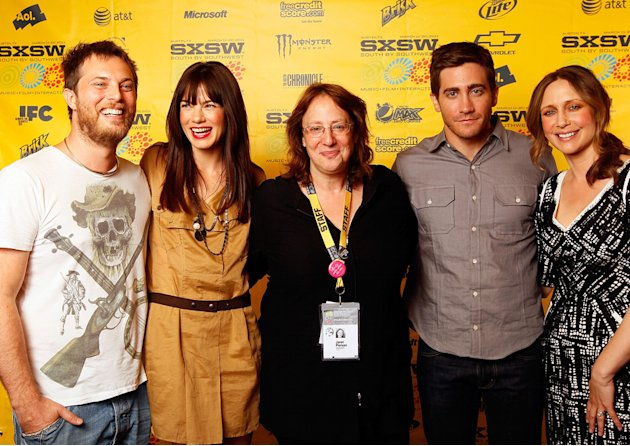 2011 SXSW Music and Film Festival Duncan Jones Michelle Monaghan Janet Pierson Jake Gyllenhaal Vera Farmiga