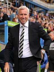 Alan Pardew's Newcastle are in the Europa League knockout stages