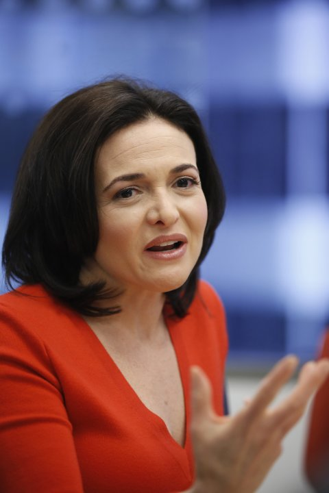 Facebook COO Sandberg speaks at Reuters Global Technology Summit in San Francisco
