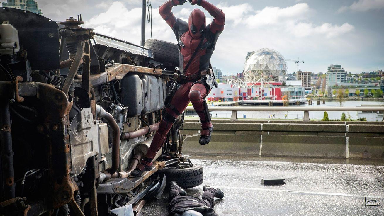 It took an illegal act to get Deadpool made
