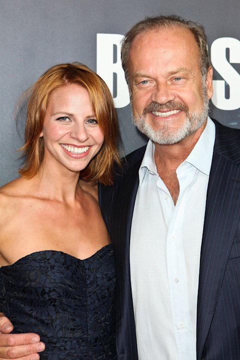 "Kelsey Grammer and wife Kayte Walsh arrive at the premiere of Starz's ""Boss"" at ArcLight Cinemas on October 6, 2011 in Hollywood, California."