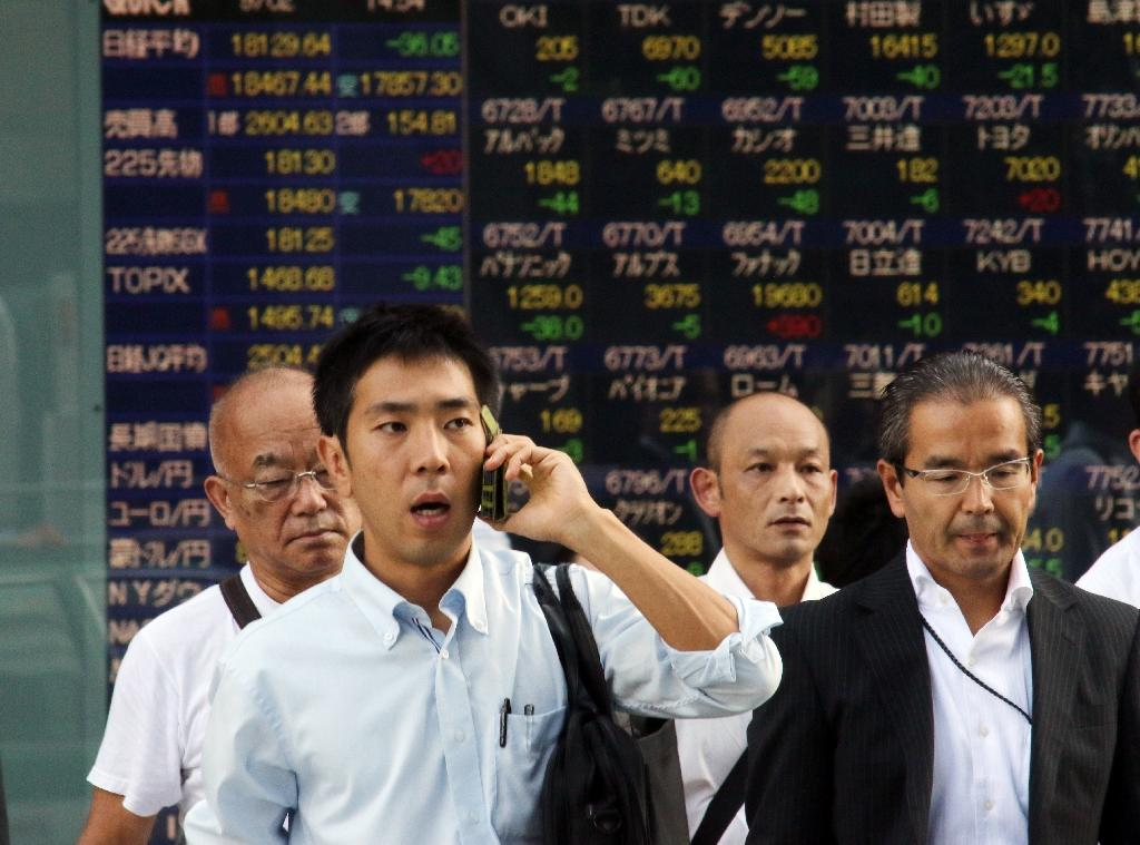 Most Asia stocks down as US jobs come into focus