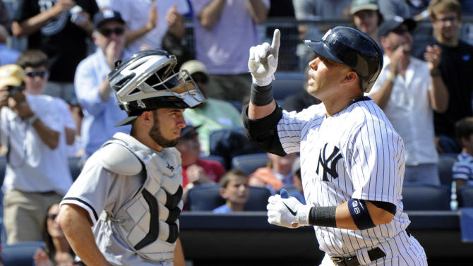 Beltran homers, Yankees beat White Sox 5-3