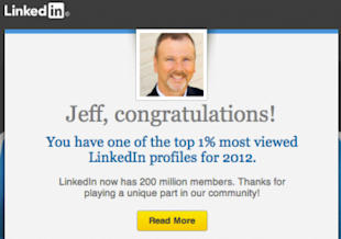 How to Get Customers Talking About Your Business image 2013 02 09 LinkedIn One Percent 350x246