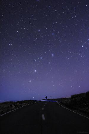 Easter Skies Feature Big Dipper and Southern Cross