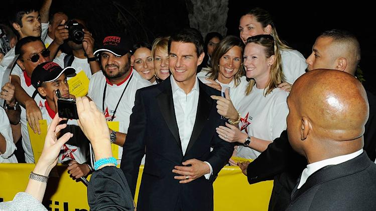 Tom Cruise Dubai Film Festival