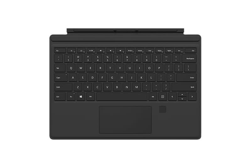 You can buy a fingerprint reader keyboard for your Surface Pro 3