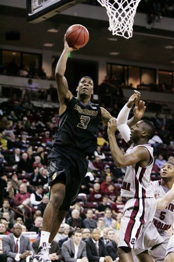 Hot-shooting Missouri beats South Carolina 90-68