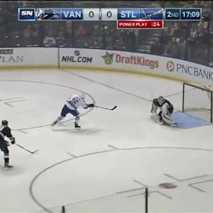 Brian Elliott Save on Jannik Hansen (02:51/2nd)