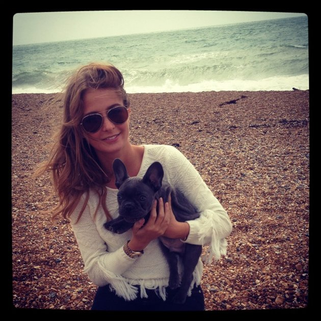Millie Mackintosh and her dog Herby