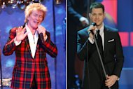 On the Charts: Rod Stewart's Christmas Cage Match