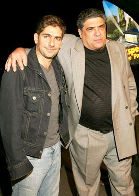 Michael Imperioli and Vincent Pastore at the New York premiere of Dreamworks' Shark Tale