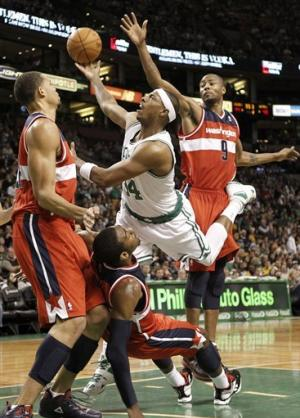 Allen heats up in 4th to lead Celtics over Wizards