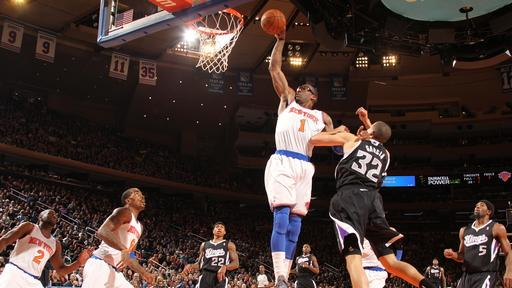 Stoudemire 10 for 10, Knicks crush Kings 120-81