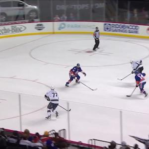 Lucic cuts the deficit to two