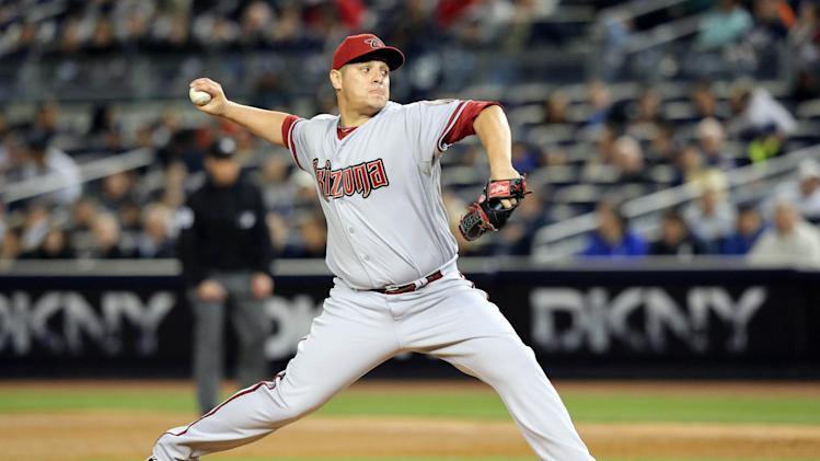MLB: Arizona Diamondbacks at New York Yankees