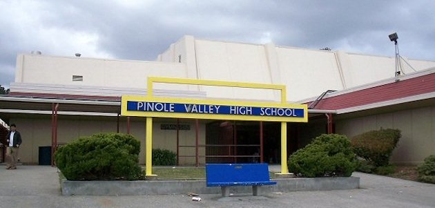 Pinole Valley High School, one of the schools which AD Matt Stewart was responsible for — Wikipedia