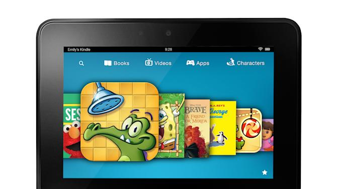 Amazon launches Kindle content service for kids