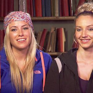The Amazing Race - Ally & Ashley's Goodbye
