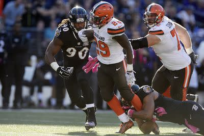 Fantasy football advice, Week 12: Who to start/sit for Ravens vs. Browns on Monday night