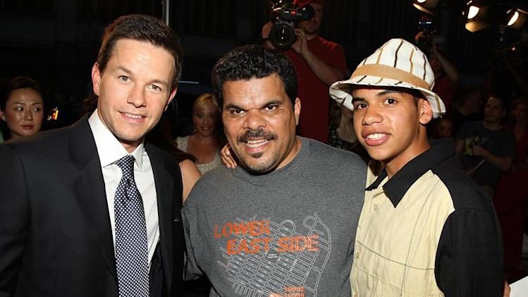 The Happening Premiere 2008 Mark Wahlberg Luiz Guzman