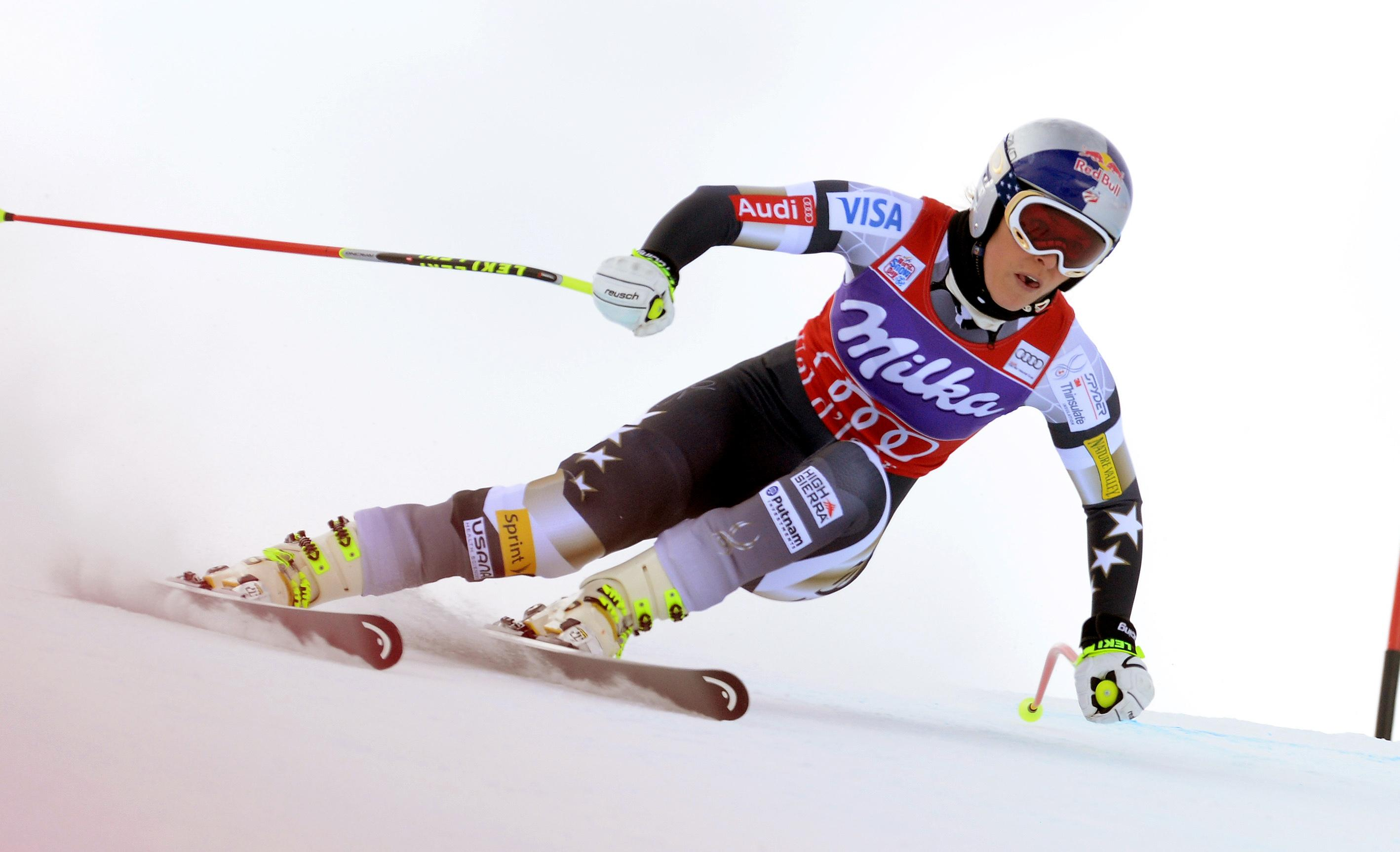 Vonn wins women's World Cup downhill in France