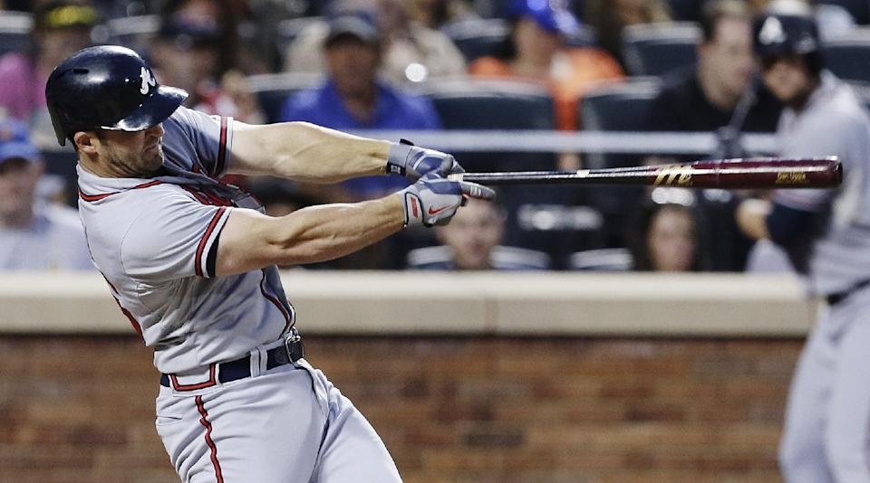 Hudson breaks ankle in Braves' 8-2 win over Mets