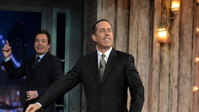 """Jerry Seinfeld Visits """"Late Night With Jimmy Fallon"""""""