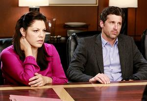 Sara Ramirez and Patrick Dempsey | Photo Credits: Ron Tom/ABC