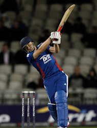 England&#39;s Luke Wright hit 99no in the victory against Afghanistan