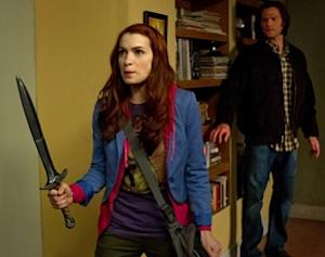 Felicia Day Books Supernatural Return