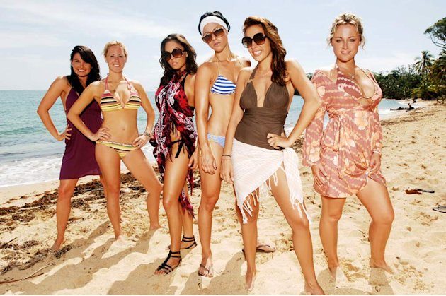 The girls on Real World/Road Rules Challenge: The Island