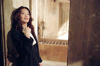 "Shu Qi as Lai, the unwitting ""package"" that leads a professional ""transporter"" into trouble in 20th Century Fox's The Transporter"