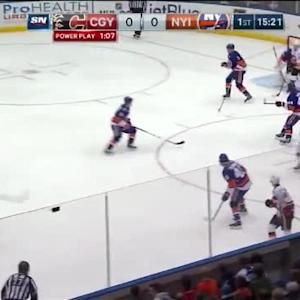 Jaroslav Halak Save on Dennis Wideman (04:42/1st)