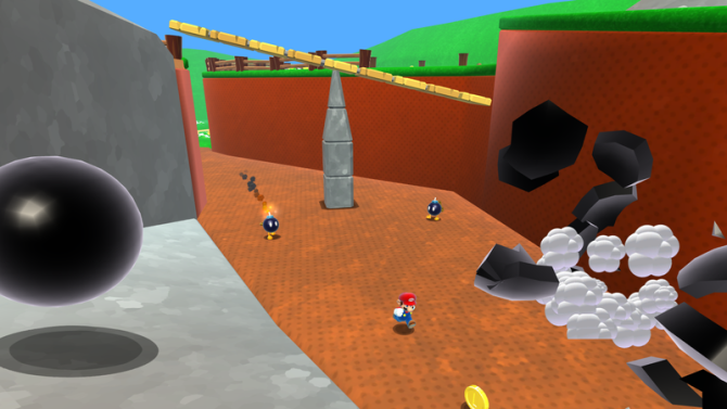 Fan-made Mario 64 remake disappears following Nintendo copyright complaint