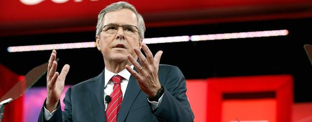 Bush's biggest CPAC win: No gifts for Democrats