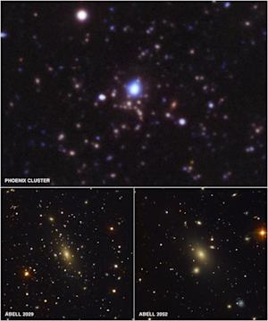 Record-Breaking Galaxy Cluster May Be Most Massive Ever