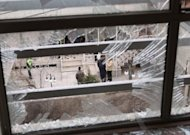 &lt;p&gt;A shattered window near the Tehran residence of an Iranian university lecturer, Professor Massoud Ali Mohammadi, believed to be a &quot;senior nuclear scientist&quot;, who was killed in a remote-controlled bomb in 2010. Iranian state television has shown several Iranians alleged to be part of a group of 13 who &quot;confessed&quot; to killing four Iranian nuclear scientists after being trained by Israel.&lt;/p&gt;