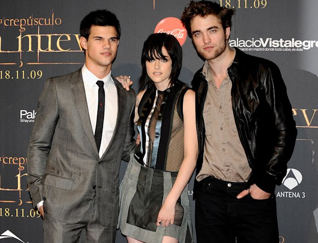 Twilight Saga New Moon Press Tour 2009 Taylor Lautner Kristen Stewart Robert Pattinson