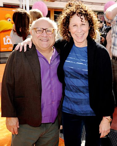 "Danny DeVito on Strained Rhea Pearlman Marriage: ""We're Working on It"""