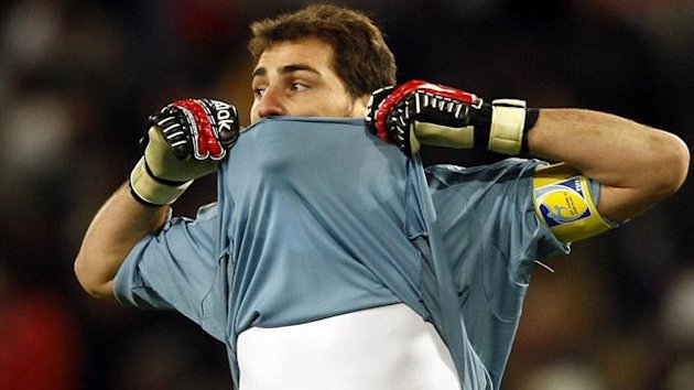 FOOTBALL 2009 Confederations Cup Spain-United States Casillas Foto: EFE
