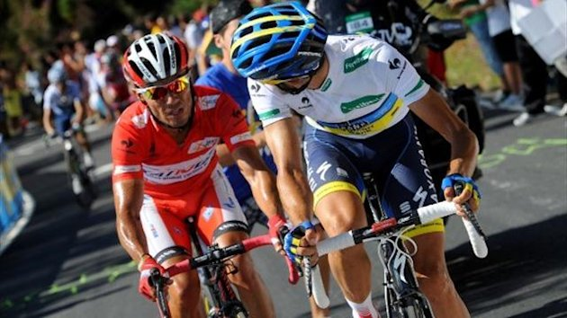 2012 Vuelta Contador Rodriguez