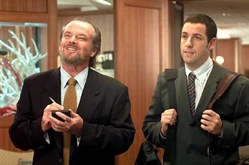 Jack Nicholson and Adam Sandler in Columbia's Anger Management