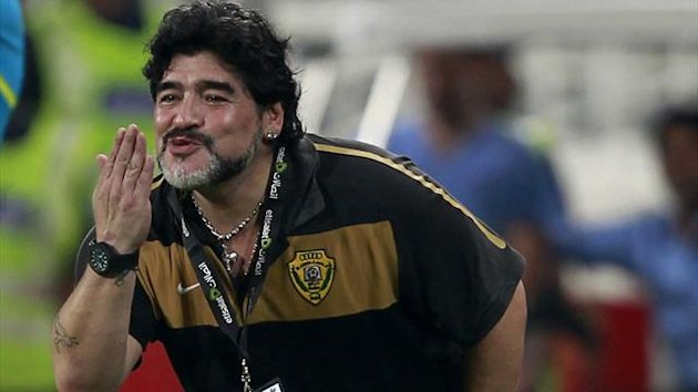 Maradona's Wasl lose on penalties