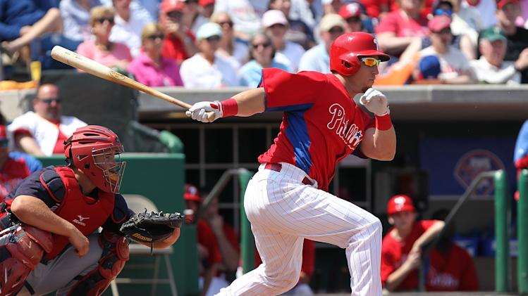 MLB: Spring Training-Atlanta Braves at Philadelphia Phillies